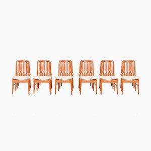 Teak Esszimmerstühle von Benny Linden, 1970er, 12er Set