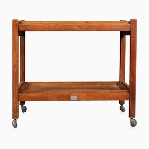 20th Century Teak Tea Trolley in Reclaimed Timber from RMS Arlanza, 1940