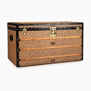 20th Century Trunk in Woven Canvas from Louis Vuitton, Paris, 1900