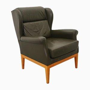 Vintage Leather Armchair, 1960s