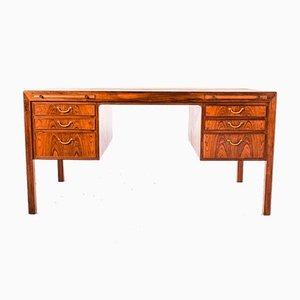 Palisander Schreibtisch von Ole Wanscher für AJ Iversen, 1950er