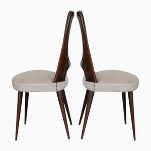 Dining Chairs by Vittorio Dassi, 1960s, Set of 7