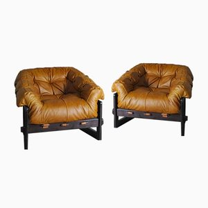 Mid-Century Brazilian Armchairs by Percival Lafer, 1960s, Set of 2