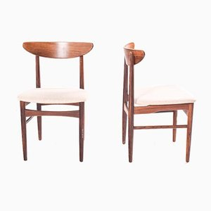 Rosewood Dining Chairs by E.W Bach for Møbelfabrik, 1960s, Set of 6