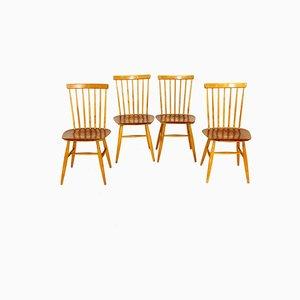 Pinnstolar Chairs from Edsbyverken, Sweden, 1960, Set of 4