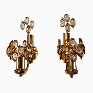Spanish Sconces by Ernst Palme for Palwa, 1980s, Set of 2