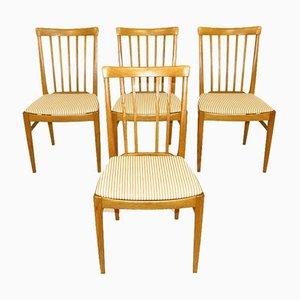 Hergården Chairs by Carl Malmsten, Sweden, 1970, Set of 4