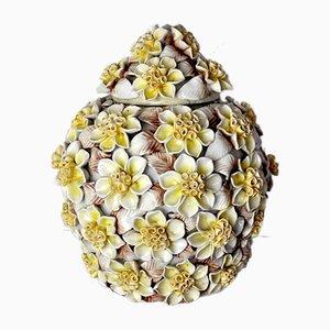 Manises Ceramic Floral Vase, Spain, 1970