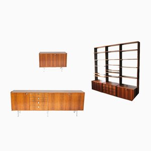 Sideboards & Wall Unit by Alfred Hendrickx for Belform, 1960s, Set of 3