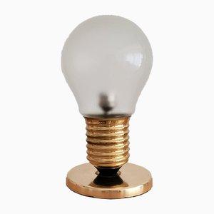 Kupfer Edison Tischlampe, 1970er