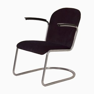 413 Cantilever Armchair by W. H. Gispen for Gispen, 1950s