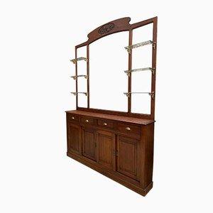 Art Deco Bistro Möbel, 3er Set