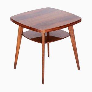 Tschechischer Tisch aus Nussholz, 1950er