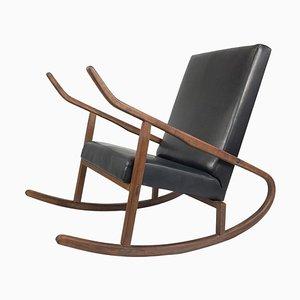 Vintage Rocking Chair, Czechoslovakia, 1970s