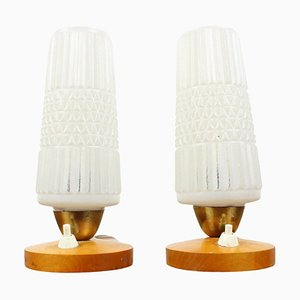 Mid-Century Table Lamps, 1970s, Set of 2