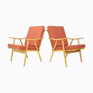 Armlehnstühle von Ton, 1970er, 2er Set