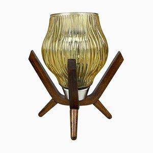 Vintage Table Lamp by Dřevo Humpolec, 1970s