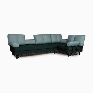 Green Fabric Corner Sofa from Zanotta