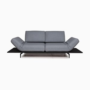 Blue Fabric 2-Seater Aura Sofa by Rolf Benz