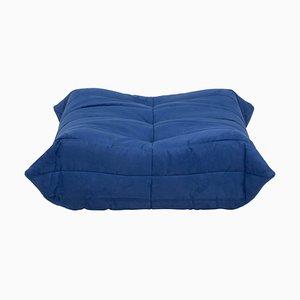 Blue Togo Footstool by Michel Ducaroy for Ligne Roset