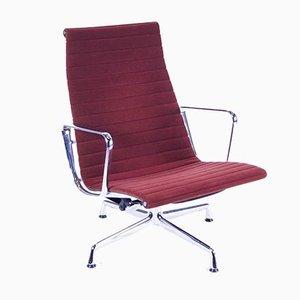 EA 124 Stuhl in Aubergine Hopsak von Eames für Vitra