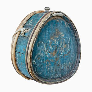 Mid-19th Century Swedish Painted Water Carrier