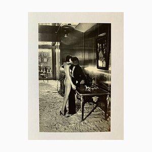 Helmut Newton, Mannequins, Quai d'Orsay II, 1977