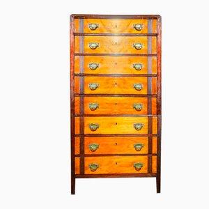 Art Deco University of Leuven Drawer Cabinet, 1930s