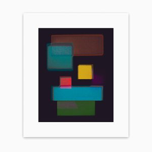 Nine Rectangles 1, Abstract Photograph, 2017