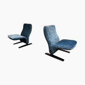 Concorde Chairs by Pierre Paulin, 1960s, Set of 2
