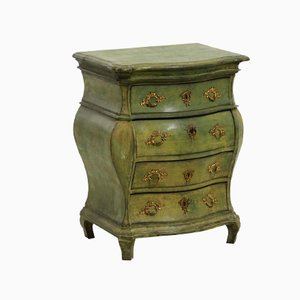 Antique Rococo Style Scandinavian Commode