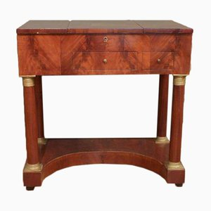 Poudreuse in Mahogany Wood, 1840s