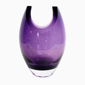 Purple Murano Glass Vase, 1970s