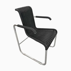 D20 Wicker Chair by Jean Proven for Tecta, Germany, 1980s