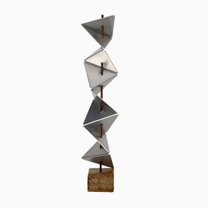 Abstract Sculpture by Gerard Van Iersel, 1970s