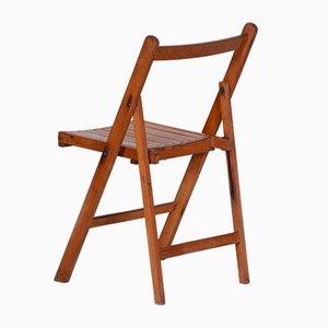 Czech Beech Chairs, 1950s, Set of 2