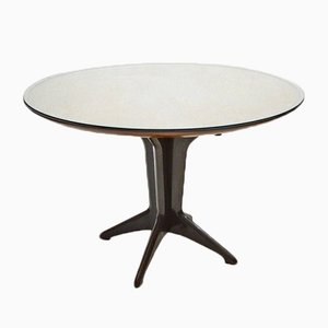 Italian Extendable Dining Table in Rosewood, 1950s