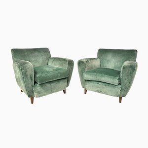 Sofa and Armchair, 1950s, Set of 2