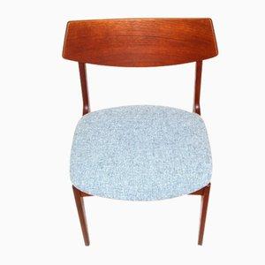 Teak Chairs, Sweden, 1960s, Set of 6