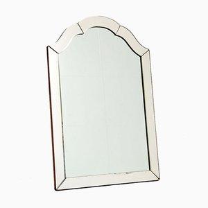 Art Deco Geätzter Vintage Spiegel