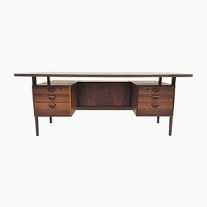 FM-60 Rosewood Desk by Kai Kristiansen for Feldballe Møbelfabrik