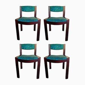 Serie 300 Stühle von Joe Colombo für Pozzi, 1965, 4er Set