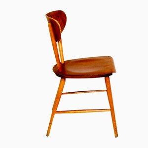 Teak Chairs, Sweden, 1960s, Set of 4