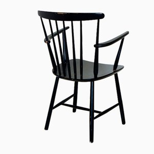 Pinnstolar Chairs from Billund Møbelfabrik, Denmark, 1960s, Set of 4