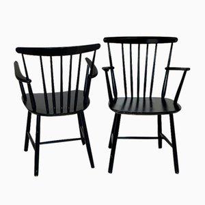 Pinnstolar Chairs from Billund Møbelfabrik, Denmark, 1960s, Set of 2