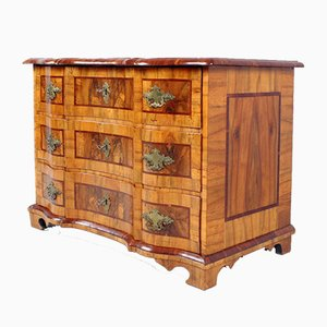 Baroque Chest of Drawers in Light Walnut