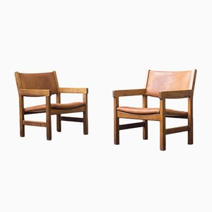 Sessel von Hans J. Wegner für Getama, 1960er, 2er Set