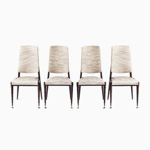 Vintage Stühle, Frankreich, 1960er, 4er Set