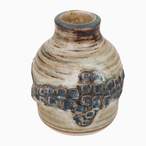 Modell 21968 Gefäß aus Keramik von Jørgen Mogensen für Royal Copenhagen