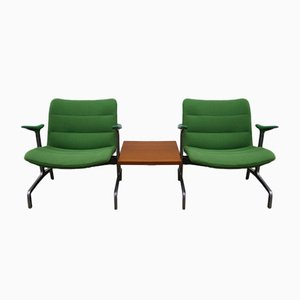 8000 Sessel von Jørgen Kastholm für Kusch + Co, 3er Set